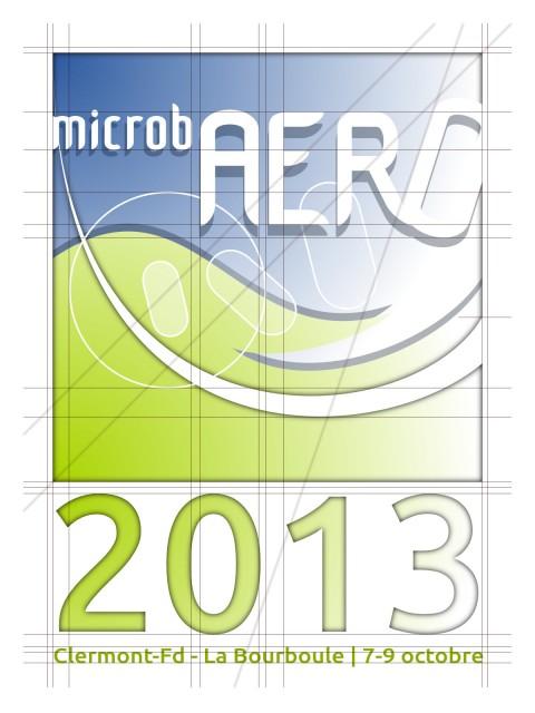 Recherche graphique logo MicrobAERO 2013