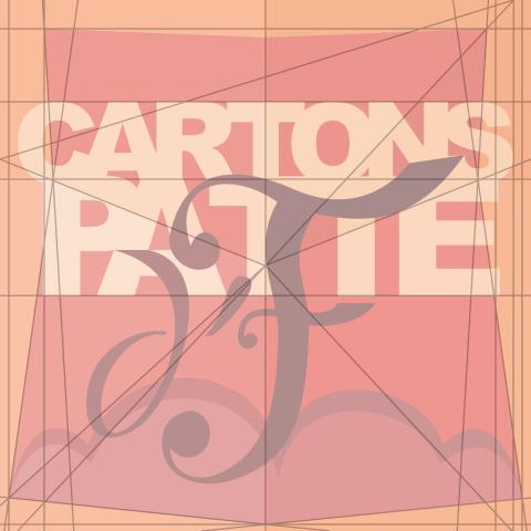 Logo Cartons Patte d'F (recherche graphique)