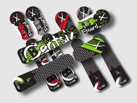 Planches Centsix Snowscoot 2015 (concept)