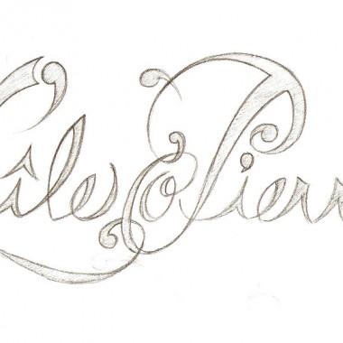 Logo L'île o Pierres 2010 (ébauche)