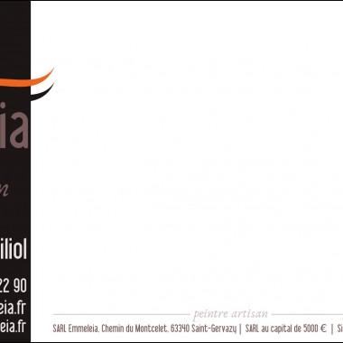 Carte correspondance Emmeleia