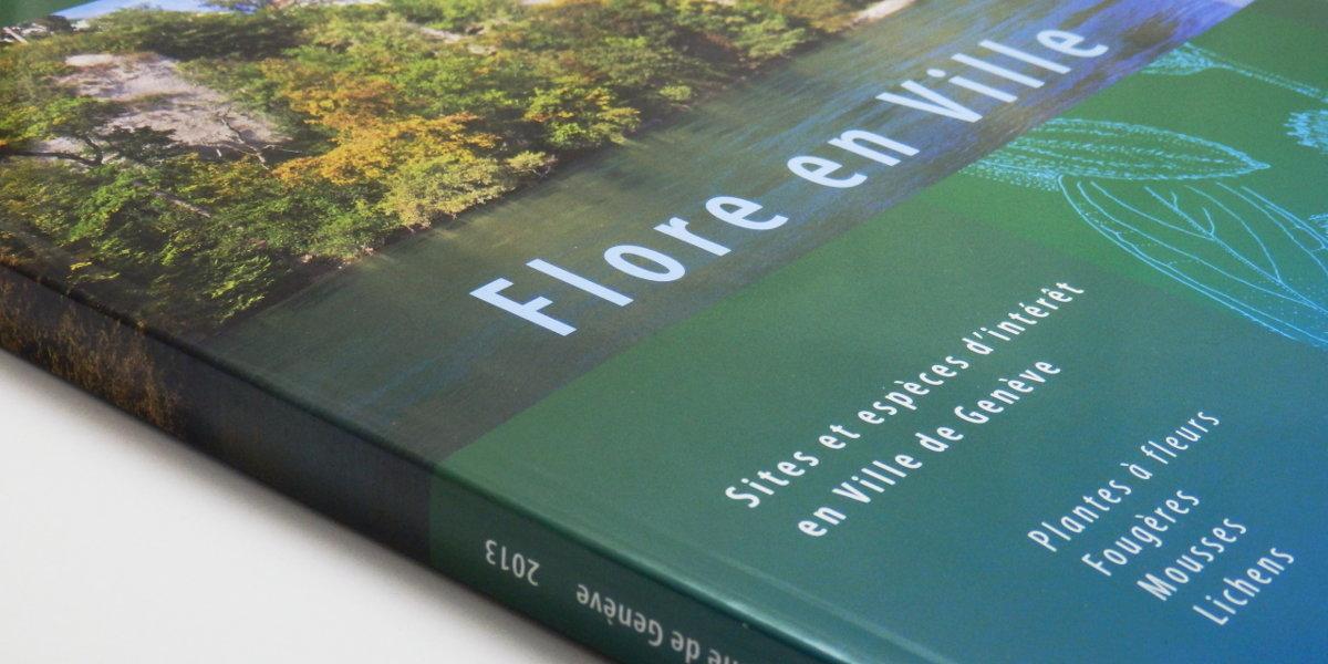 Flore en Ville aux éditions Conservatoire & Jardin Botaniques