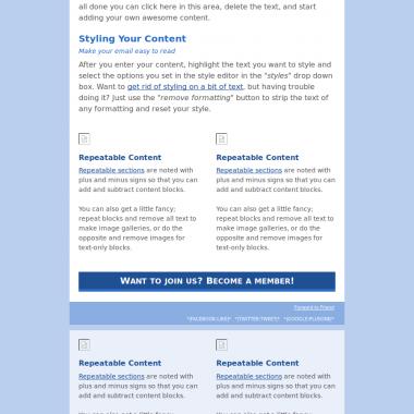 Template newsletter EuroScientist