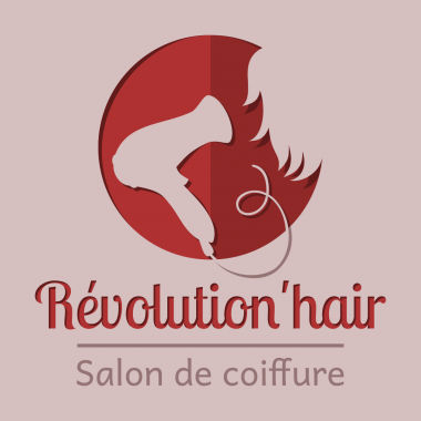"Logo Révolution'hair 2015 en version ""compacte"""