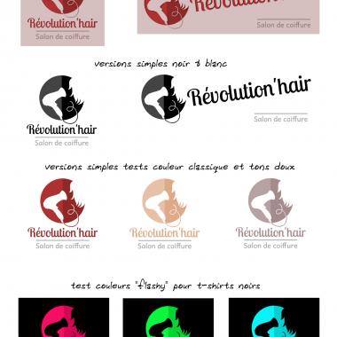 Planche logos Révolution'hair 2015