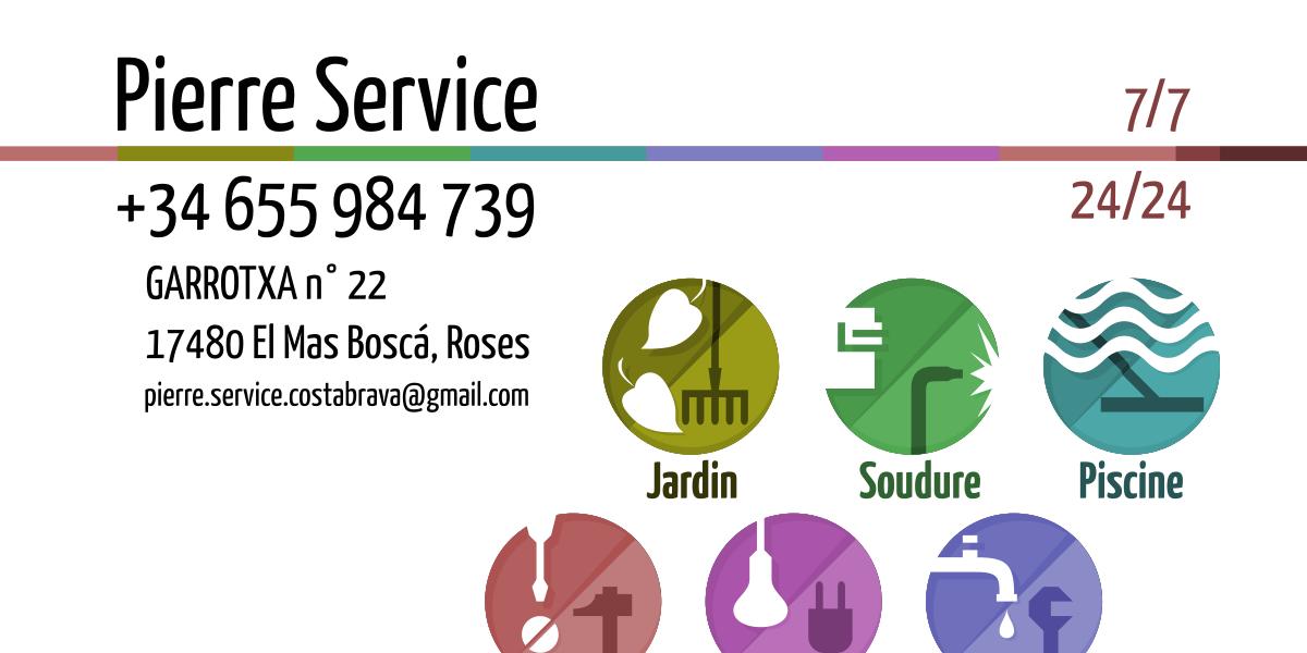 Communication Visuelle Pierre Service