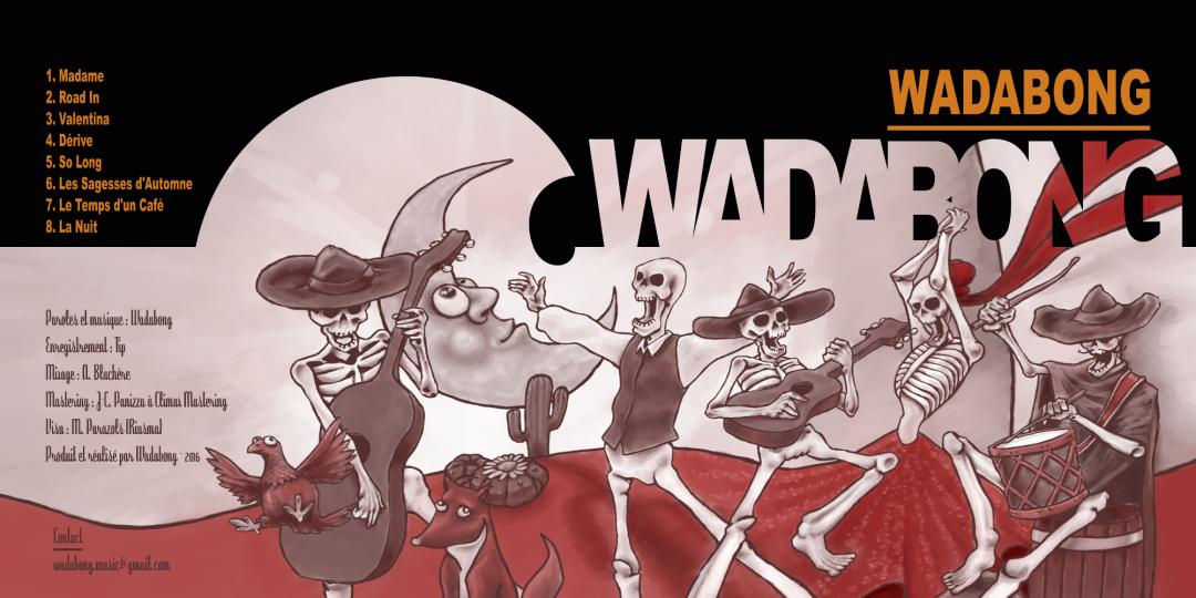 Couverture premier EP Wadabong
