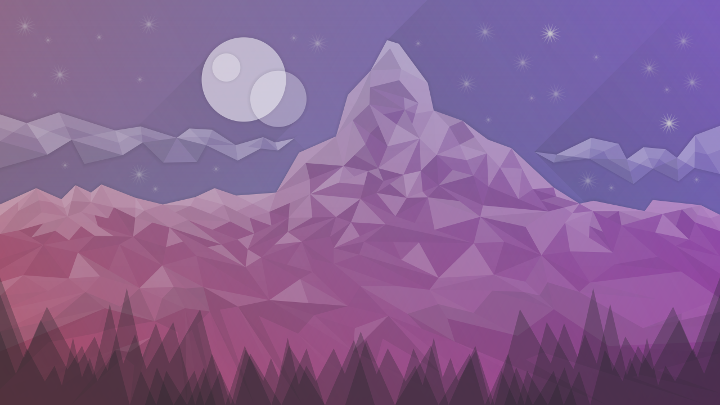 riusma-kde-plasma-5-16-wallpaper-2019-starry-night-on-matterhorn-prev-purple-001.png